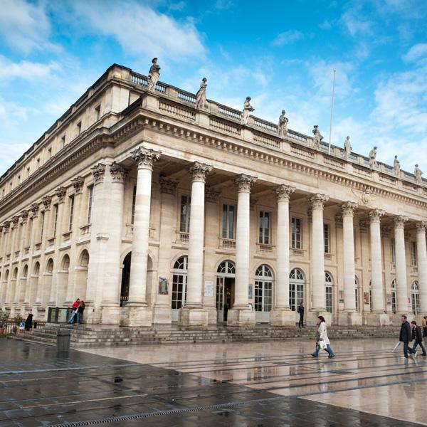 Grand theâtre - Bordeaux place de la comédie