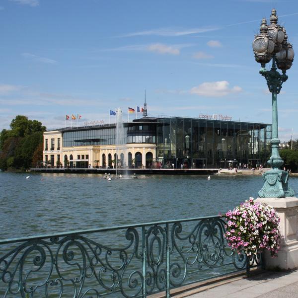 Profitez du lac et casino d'Enghien lors de votre séminaire