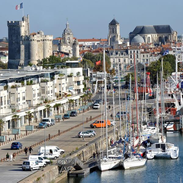 Découvrez le port de La Rochelle lors de votre séminaire à La Rochelle