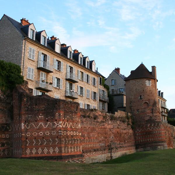 Séminaire au Mans, découverte des châteaux
