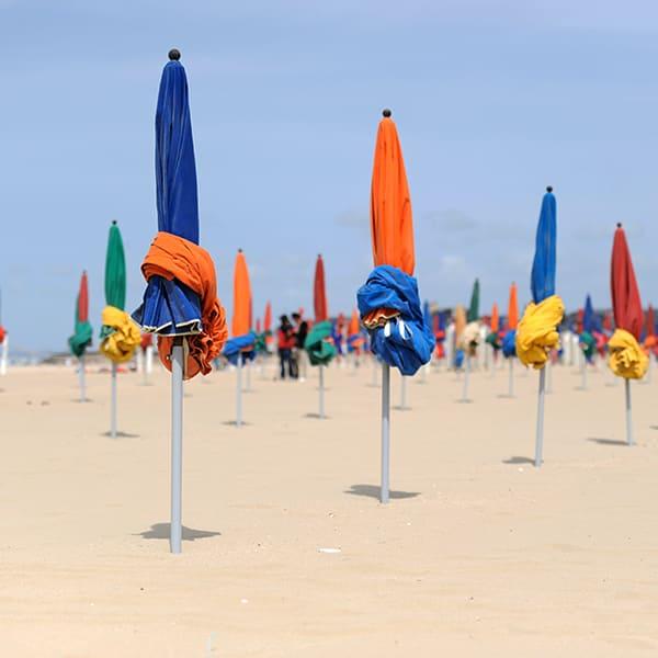 Découverte de la plage lors d'un séminaire à Deauville