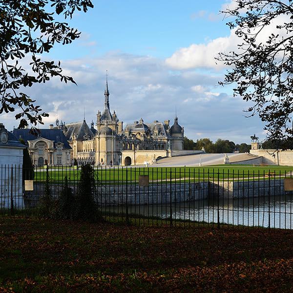 Team building au château Chantilly